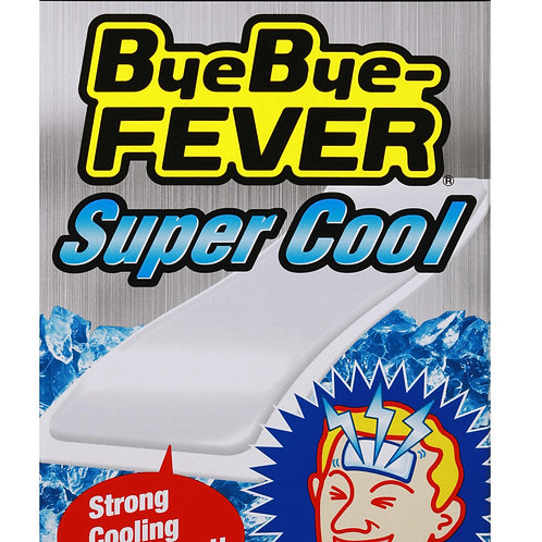 Bye Bye Fever Super Cool (5 x 12cm) 6 sheets