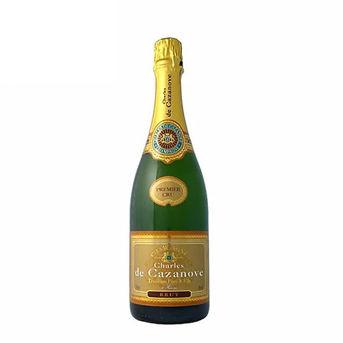 CHAMPAGNE CHARLES DE CAZANOVE TRADITION BRUT(PREMIER)