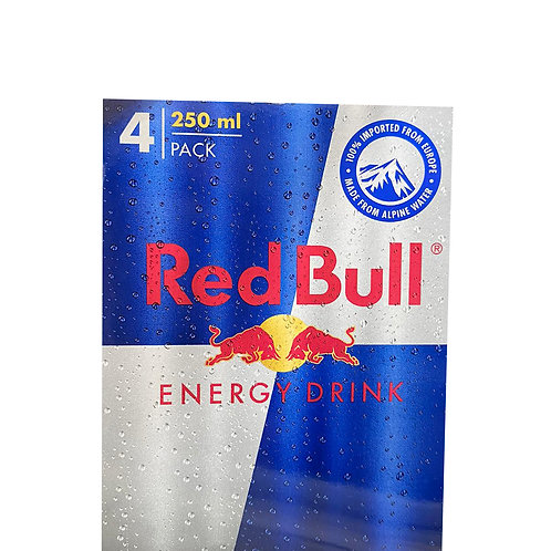 Red Bull Energy Can Drink 4 x 250ml