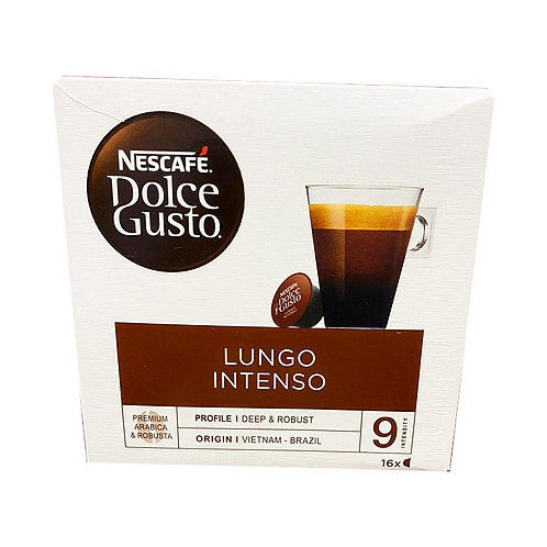 Nescafe Dolce Gusto Beverage Capsules - Lungo Intenso 16 per pack
