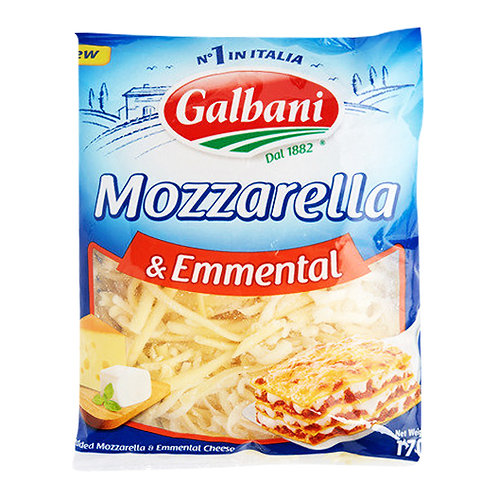 Galbani Shredded Cheese - Mozzarella & Emmental