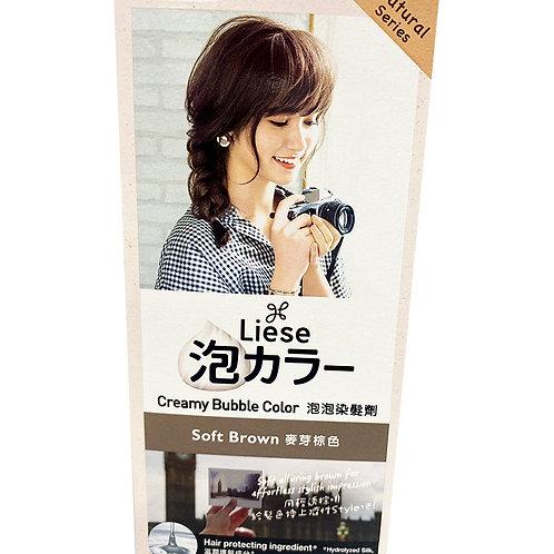 Liese Creamy Bubble Hair Colour - Soft Brown
