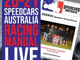 20/21 SPEEDCARS AUSTRALIA RACING MANUAL ONLINE