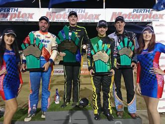 Kingshott the New Speedcar Australian Champion