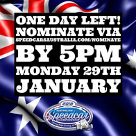 One Day Left for Regular Nominations in the 77th Australian Speedcar Championship!