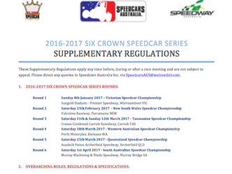 Six Crown Series Supplementary Regulations