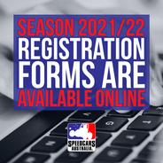 21/22 REGISTRATIONS OPEN ONLINE