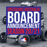 20/21 SPEEDCARS AUSTRALIA BOARD ANNOUNCEMENT