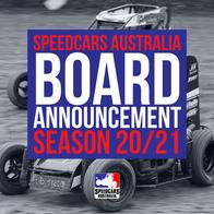 20/21 SPEEDCARS AUSTRALIA BOARD ANNOUNCEMENT