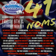 Official Nominations for the 77th Australian Speedcar Championship!