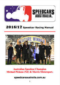 16/17 Speedcars Australia Rulebook Available for Download