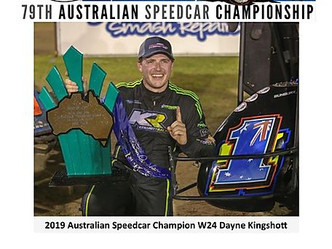 NOMINATE NOW for the 79th Australian Speedcar Championship!