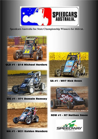 Congratulations to All State Speedcar Championship Winners