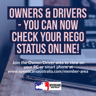 Check Your Rego Status Online!
