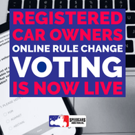 ONLINE RULE CHANGE VOTING NOW LIVE!