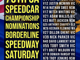 70th SA Speedcar Title Nominations Are In!