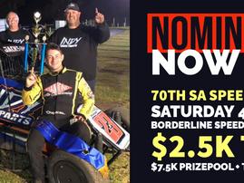 SA Speedcar Title Noms Open!