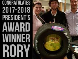 SASA's 2017-2018 President Award Winner!