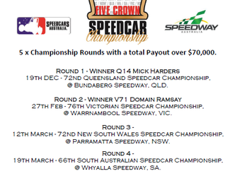 Harders Leads Five Crown Series To Murphy & Chaffey Heading Into Tonight's Round 3; The Nsw