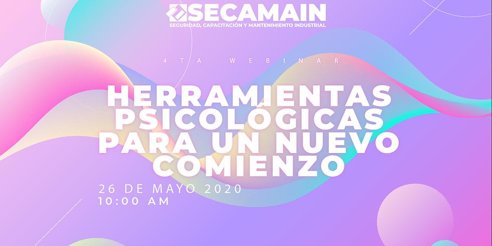 HERRAMIENTAS PSICOLÓGICAS PARA UN NUEVO COMIENZO