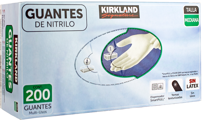 Guantes de Nitrilo KIRKLAND