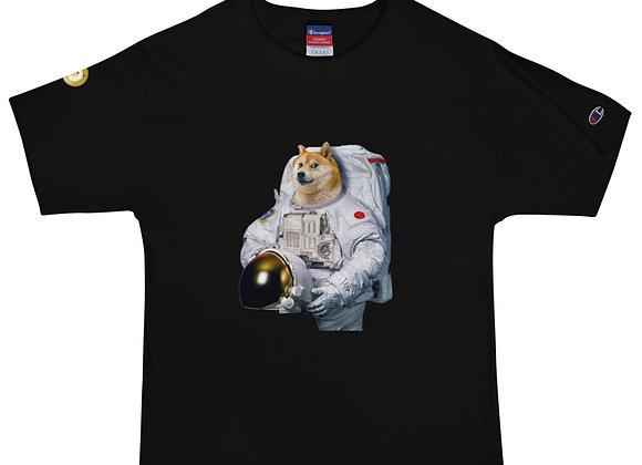 Doge the Spacenaut Men's Champion T-Shirt