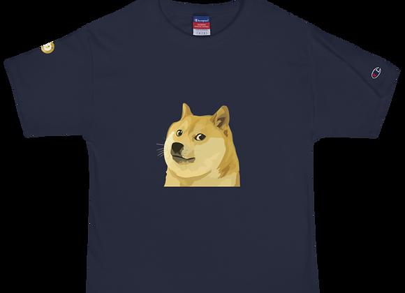 The Doge Face Men's Champion T-Shirt