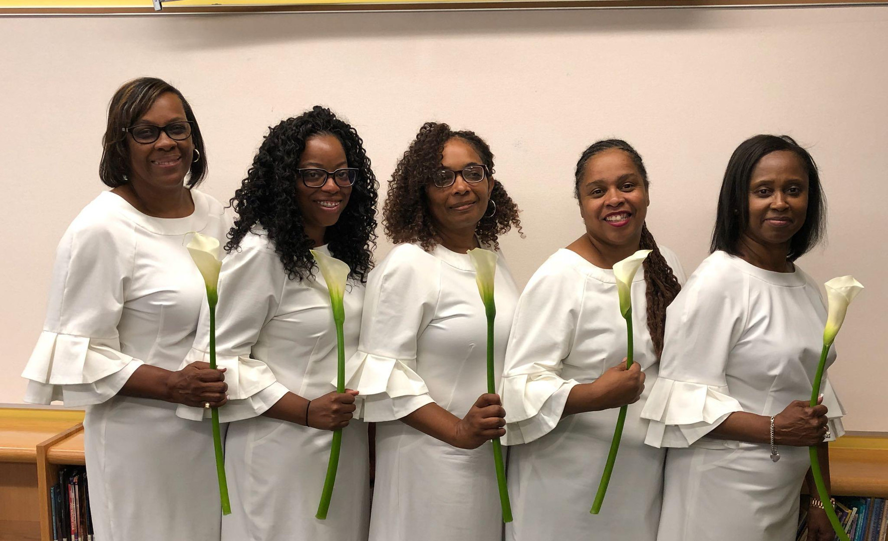 Delta Beta Chapter - Welcome new Sorors