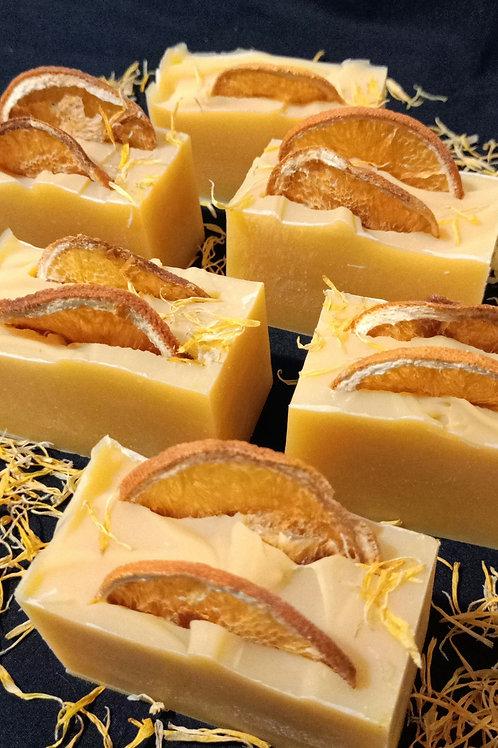 Orange & Calendula Soap Bar