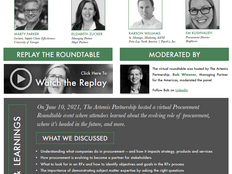 Procurement Roundtable - June 2021