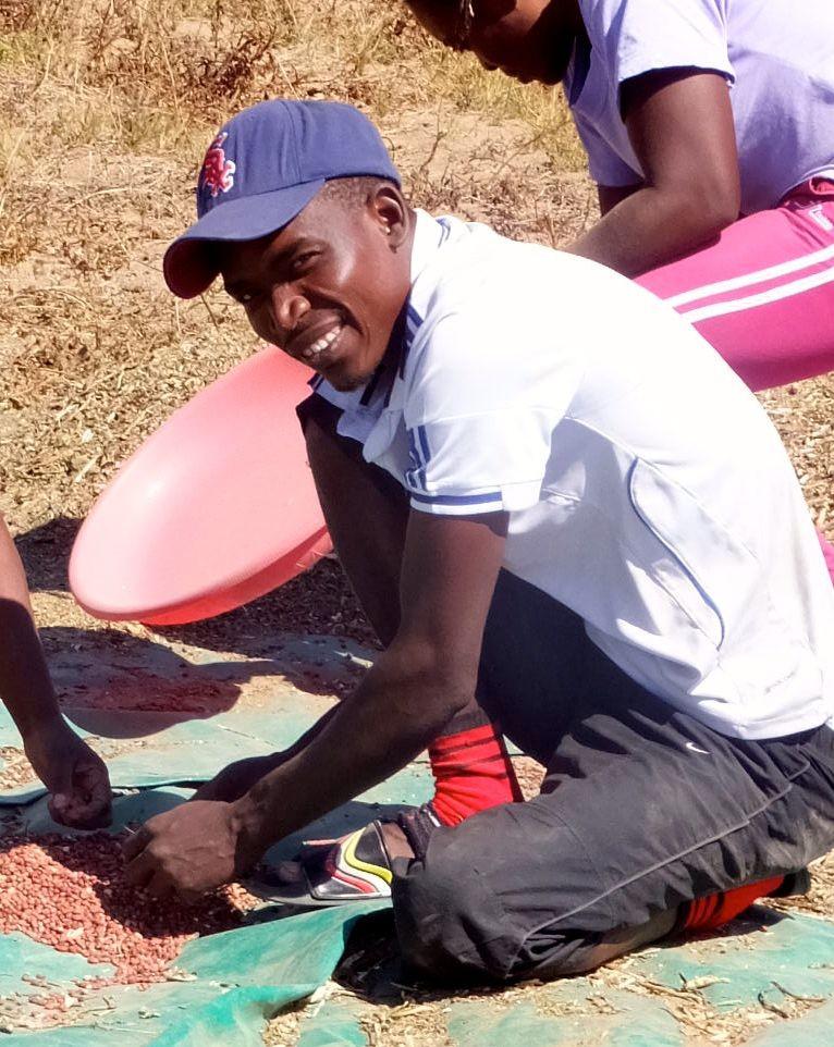 Happy doing community work at Kufunda