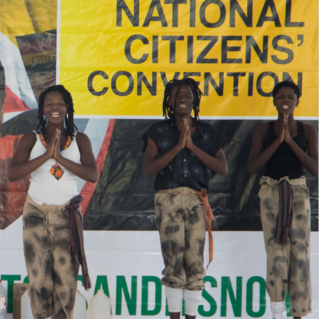 Facilitating the National Citizen's Convention
