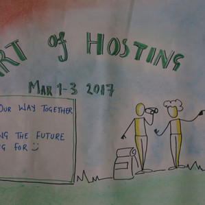 Finding our way Together through the Art of Hosting. Learning to walk the Chaordic Path