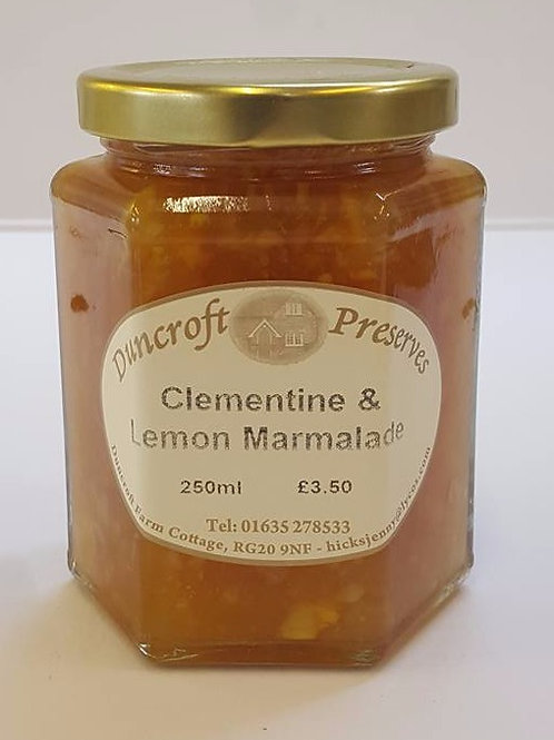 Clementine & Lemon Marmalade