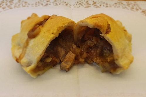 Pack of 12 Slow Roast Pork, Leek and Apple Pasties