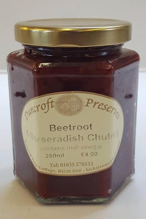 Beetroot & Horseradish Chutney
