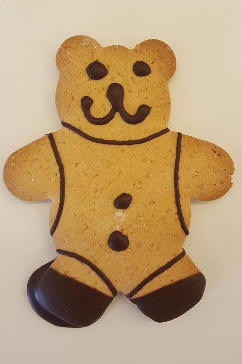 Pack of 4 Gingerbread Teddies