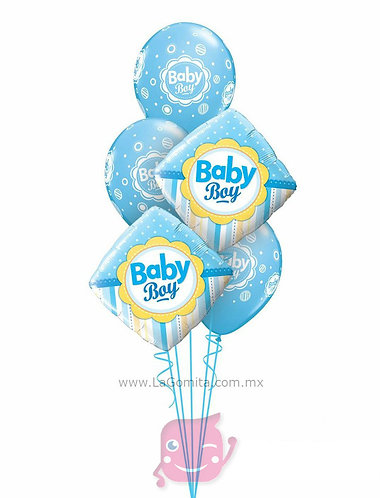 RAMILLETE BABY BLUE