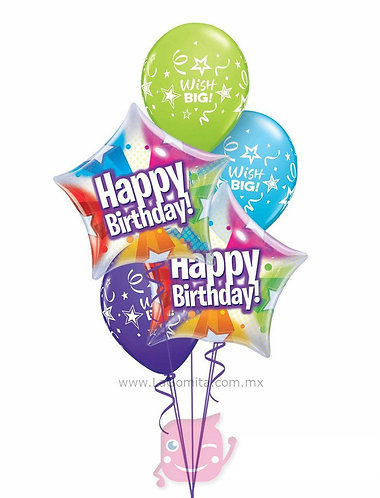 RAMILLETE HAPPY BIRTHDAY STAR