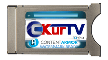 C-Kur TV adds Forensic Watermarking to CI CAMs, thus further enhancing operators' anti-piracy option