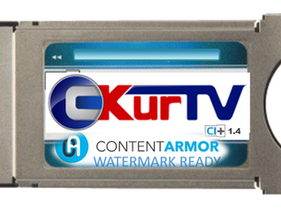 C-Kur TV adds Forensic Watermarking to CI CAMs, thus further enhancing operators' anti-piracy option