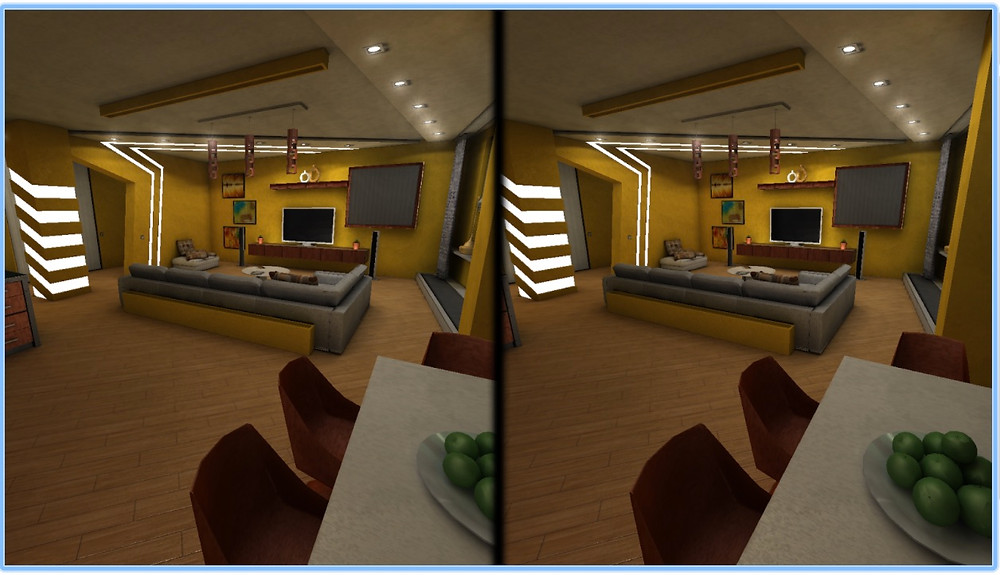vr solution for interior design