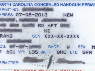 550,000 NC Concealed Carry Permit Holders, How Many Practice?