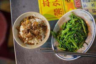 台湾 夜市 魯肉飯