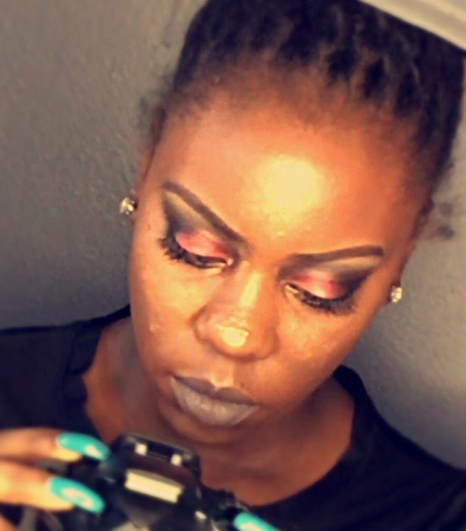 Drama Glam Makeup With Mink Lashes