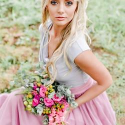 #flowerbouquet #pinks #bridesmaid #wedding #floral #nature _renskeklerk