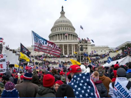 Capitol Hill has been seized: Will this make America Great Again?