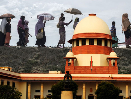 Rohingya people's future takes a further hit with a devastating ruling of the Indian Court