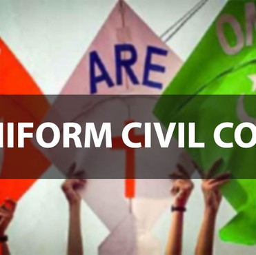 Uniform Civil Code: The Contention of Constitution, Minority Rights, and Gender Justice