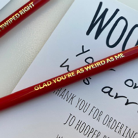 Glad You're As Weird As Me Pencil